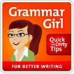 Grammar Girl Quick and Dirty Tips for Better Writing Logo