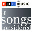NPR: All Songs Considered Podcast Logo