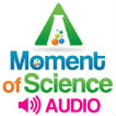 WFIU-FM: A Moment of Science: Audio Podcast Logo