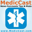 MedicCast Audio Podcast for EMT Paramedics and EMS Students Logo