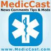 MedicCast Audio Podcast for EMT Paramedics and EMS Students Logo