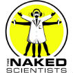 - The Naked Scientists Podcast - Stripping Down Science Logo