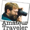 Amateur Traveler Podcast | travel for the love of it Logo