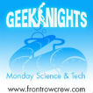 GeekNights Mondays: Science Technology Computing Logo